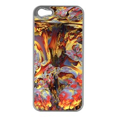 Abstract 4 Apple Iphone 5 Case (silver)