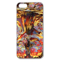 Abstract 4 Apple Seamless Iphone 5 Case (clear)