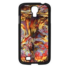 Abstract 4 Samsung Galaxy S4 I9500/ I9505 Case (black)