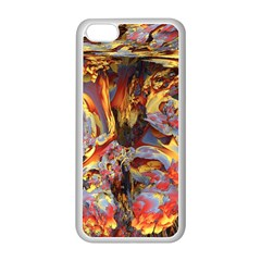 Abstract 4 Apple iPhone 5C Seamless Case (White)