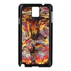Abstract 4 Samsung Galaxy Note 3 N9005 Case (Black)