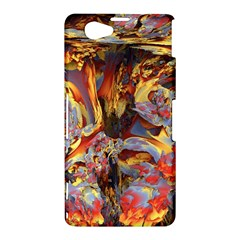 Abstract 4 Sony Xperia Z1 Compact Hardshell Case