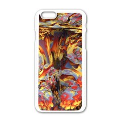 Abstract 4 Apple Iphone 6 White Enamel Case