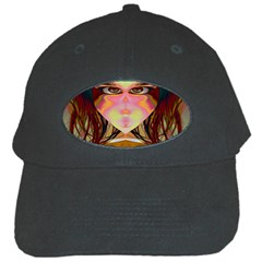 Cat Woman Black Baseball Cap