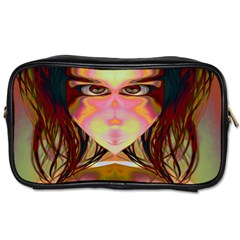 Cat Woman Travel Toiletry Bag (one Side)