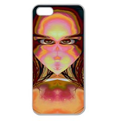 Cat Woman Apple Seamless Iphone 5 Case (clear)