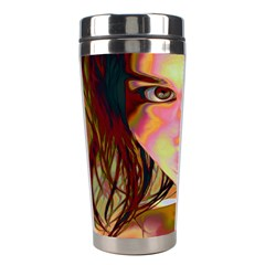 Cat Woman Stainless Steel Travel Tumbler