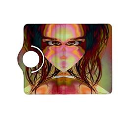 Cat Woman Kindle Fire HD (2013) Flip 360 Case