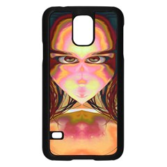 Cat Woman Samsung Galaxy S5 Case (black)