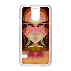 Cat Woman Samsung Galaxy S5 Case (White)