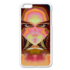 Cat Woman Apple iPhone 6 Plus Enamel White Case