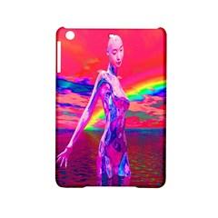 Cyborg Mask Apple iPad Mini 2 Hardshell Case
