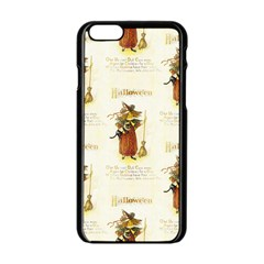 Tis Hallowe en Apple iPhone 6 Black Enamel Case