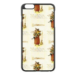 Tis Hallowe en Apple iPhone 6 Plus Black Enamel Case
