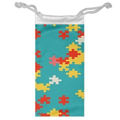 Puzzle Pieces Jewelry Bag