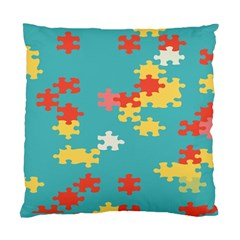 Puzzle Pieces Cushion Case (two Sided)