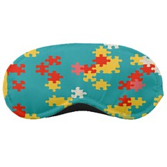 Puzzle Pieces Sleeping Mask