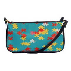 Puzzle Pieces Evening Bag