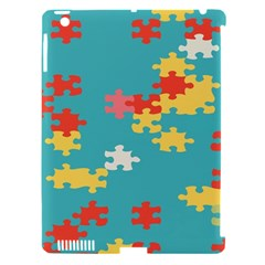 Puzzle Pieces Apple Ipad 3/4 Hardshell Case (compatible With Smart Cover)