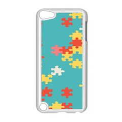 Puzzle Pieces Apple iPod Touch 5 Case (White)