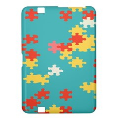 Puzzle Pieces Kindle Fire Hd 8 9  Hardshell Case