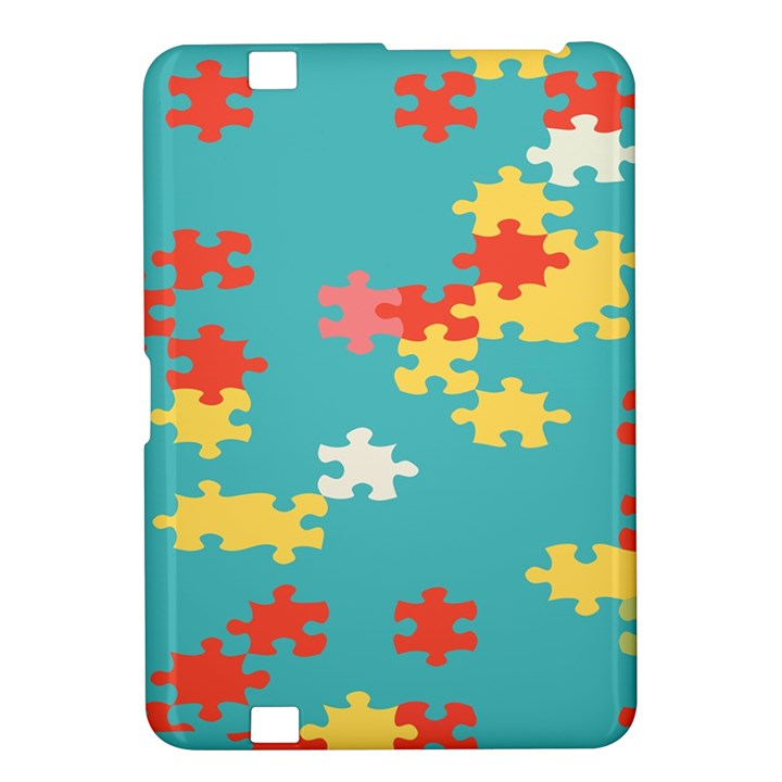 Puzzle Pieces Kindle Fire HD 8.9  Hardshell Case