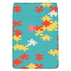 Puzzle Pieces Removable Flap Cover (large)