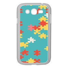 Puzzle Pieces Samsung Galaxy Grand DUOS I9082 Case (White)