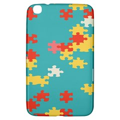 Puzzle Pieces Samsung Galaxy Tab 3 (8 ) T3100 Hardshell Case