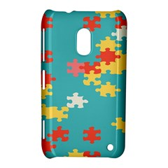 Puzzle Pieces Nokia Lumia 620 Hardshell Case