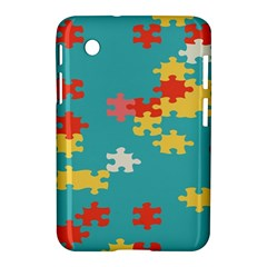 Puzzle Pieces Samsung Galaxy Tab 2 (7 ) P3100 Hardshell Case