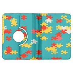 Puzzle Pieces Kindle Fire HDX Flip 360 Case