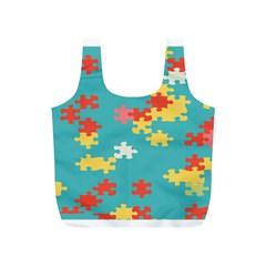 Puzzle Pieces Reusable Bag (S)