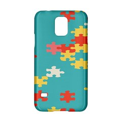 Puzzle Pieces Samsung Galaxy S5 Hardshell Case