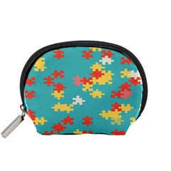 Puzzle Pieces Accessory Pouch (Small)
