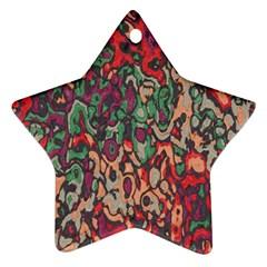 Color mix Ornament (Star)