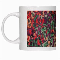 Color Mix White Mug