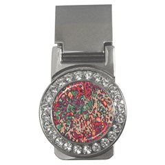 Color Mix Money Clip (cz)
