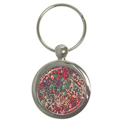 Color Mix Key Chain (round)