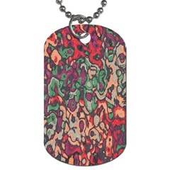 Color mix Dog Tag (Two Sides)