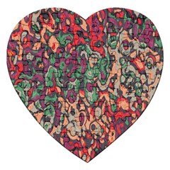 Color Mix Jigsaw Puzzle (heart)