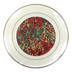 Color Mix Porcelain Plate