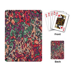 Color Mix Playing Cards Single Design