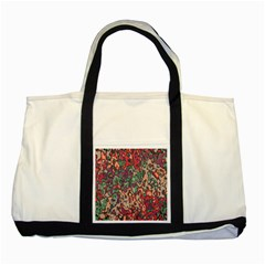 Color Mix Two Tone Tote Bag