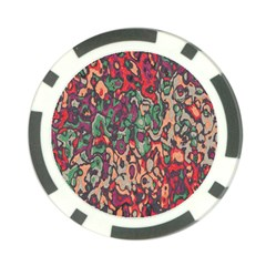 Color Mix Poker Chip Card Guard