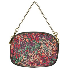 Color Mix Chain Purse (two Sides)