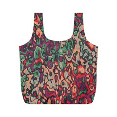 Color mix Full Print Recycle Bag (M)