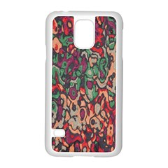 Color mix Samsung Galaxy S5 Case (White)