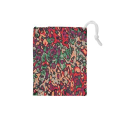 Color Mix Drawstring Pouch (small)