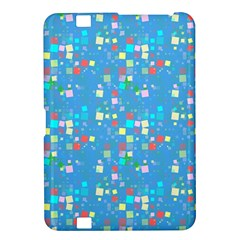 Colorful squares pattern Kindle Fire HD 8.9  Hardshell Case
